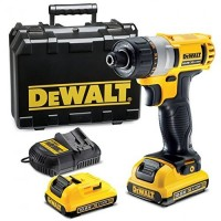 DeWalt DCF610D2-GB - 10.8V Screwdriver 2 x 2.0Ah Batteries Multi Voltage Charger & Kit Box |