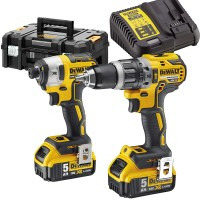 DeWalt DCK266P2T - 18V XR Compact Brushless Twin Kit (DCD796 Drill & DCF887 Impact Driver)