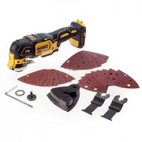DeWalt DCS355N-XJ - 18V XR Brushless Oscillating Tool Bare Unit with 29 Accessories |