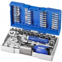Expert by Facom E030729 - 48 Piece 1/4″ Drive Metric Compact Nano Socket & Bit Set |
