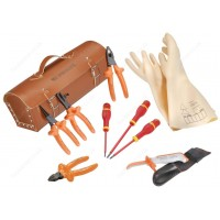 FACOM 9 PIECE 1000 V INSULATED TOOL SET