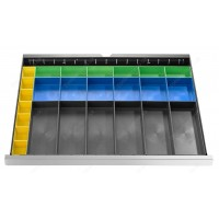 FACOM 2930.B2 SET OF 25 PLASTIC TRAYS