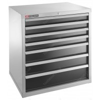 FACOM 2937B HEAVY-DUTY INDUSTRIAL UNIT WITH 7 DRAWERS