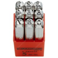 FACOM 293A.5 293A - SET OF 9 DIGIT PUNCHES