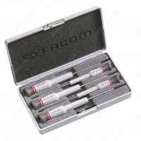 FACOM AEF.J2 MICRO TECH SLOTTED ( FLAT / FLATHEAD / SLOT ) HEAD SCREWDRIVER SET
