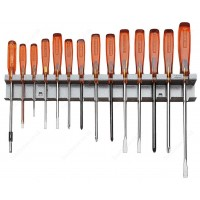 FACOM AS.15 14 PIECE ISORYL SCREWDRIVER SET ON A RACK