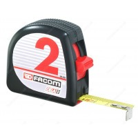 FACOM DELA.25.00EX 2 METRE ABS BODY TAPE MEASURE MM & INCHES