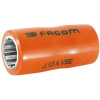 "FACOM J.12AVSE 1000 V INSULATED 3/8"" DRIVE BI - HEXAGONAL ( HEX / HEXAGON ) SOCKET - 12MM"