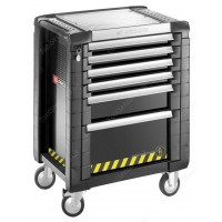 FACOM JET.6GM3S JET+3 6 DRAWER ROLLER CABINET SAFETY RANGE