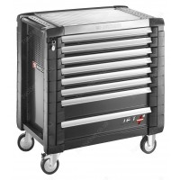 FACOM JET.8GM4 JET+ 8 DRAWER ROLLER CABINET - GREY
