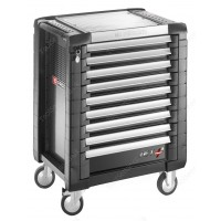 FACOM JET.9GM3 JET+ 9 DRAWER ROLLER CABINET GREY
