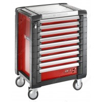 FACOM JET.9M3 JET+ 9 DRAWER ROLLER CABINET RED