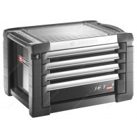 FACOM JET.C4GM3 JET+ 4 DRAWER TOP CHEST - GREY/BLACK
