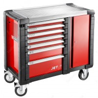 FACOM JET.T7M3 7 DRAWER ROLLER CABINET / WORKBENCH RED
