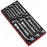 FACOM MODM.75 13 6-POINT TUBULAR SOCKET WRENCHES SET IN FOAM TRAY