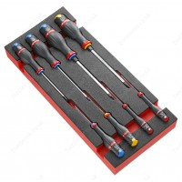 FACOM MODM.A2 8 PIECE PROTWIST SCREWDRIVER MODULE SET