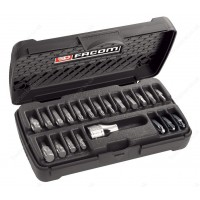 FACOM SE.1A 20-PIECE SET OF SHORT-REACH BITS