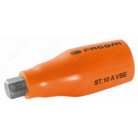 "FACOM ST.10AVSE 1000 V INSULATED 1/2"" DRIVE HEXAGONAL ( HEX / HEXAGON ) BIT - 10MM"