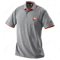 FACOM VP.POLOGR-L GREY POLO SHIRT - LARGE