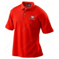 FACOM VP.POLORED-M RED POLO SHIRT - MEDIUM